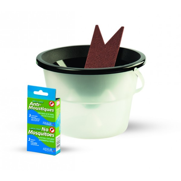 Piège À Larves Anti-Moustiques Aqualab, Sans Produit Chimique