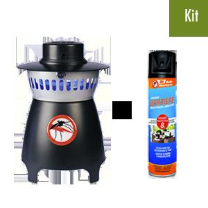 Kit anti moustique petit jardin et terrasse arsenal solution - Combattre les moustiques dans le jardin ...
